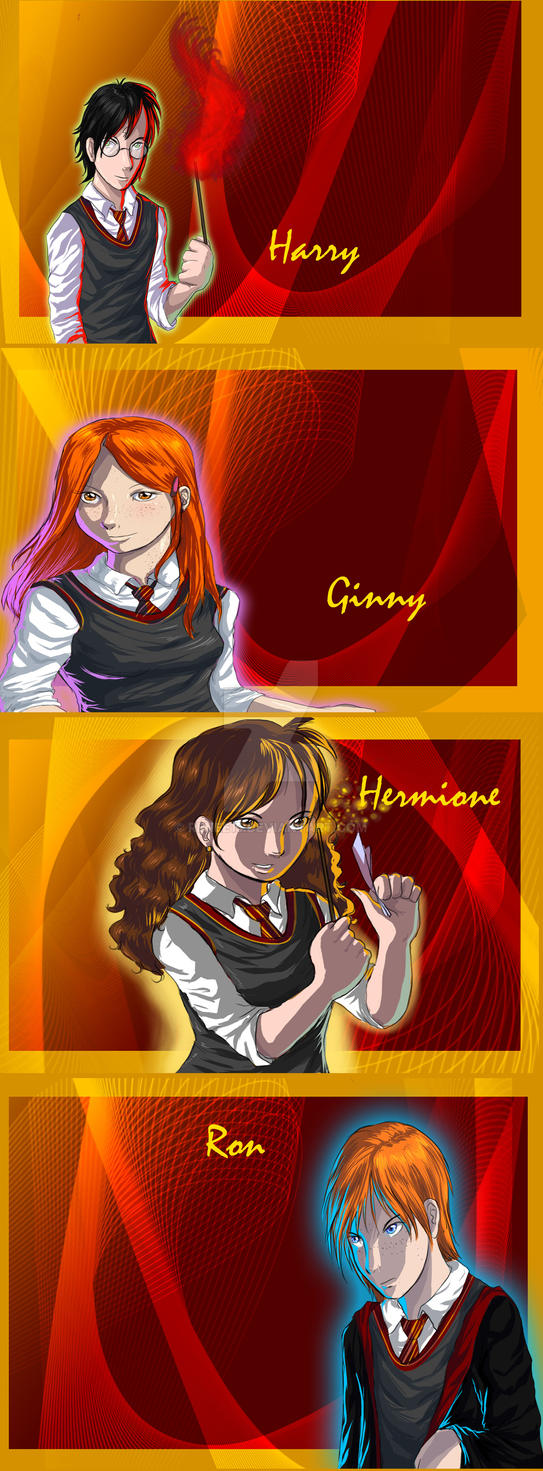 Harry Potter Group by Renee15