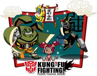 TF Animated KUNG-FU by piyo119