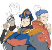 Elite Guard as human by piyo119