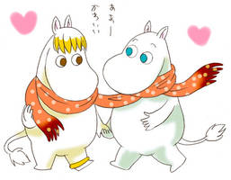 Moomin and Floren 2 by piyo119