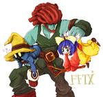 FF9 Eiko,Vivi,Amarant
