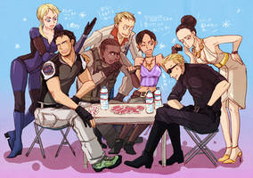 Resident Evil 5 lounge