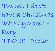 Doctor Who Quote by ImLittleKasey