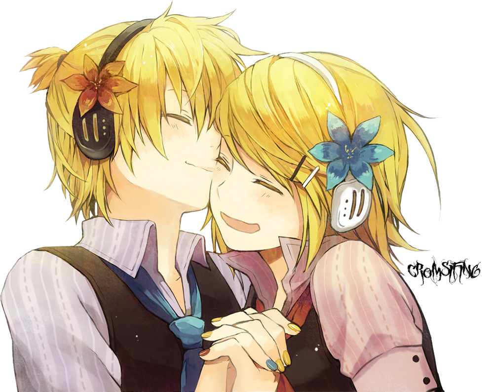 Kagamine Twins by cromsifing