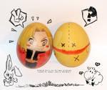 swiateczne jajka :3