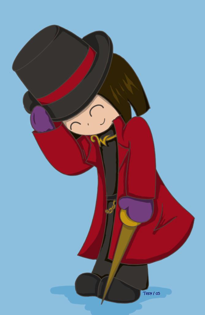 Willy Wonka by Tepy
