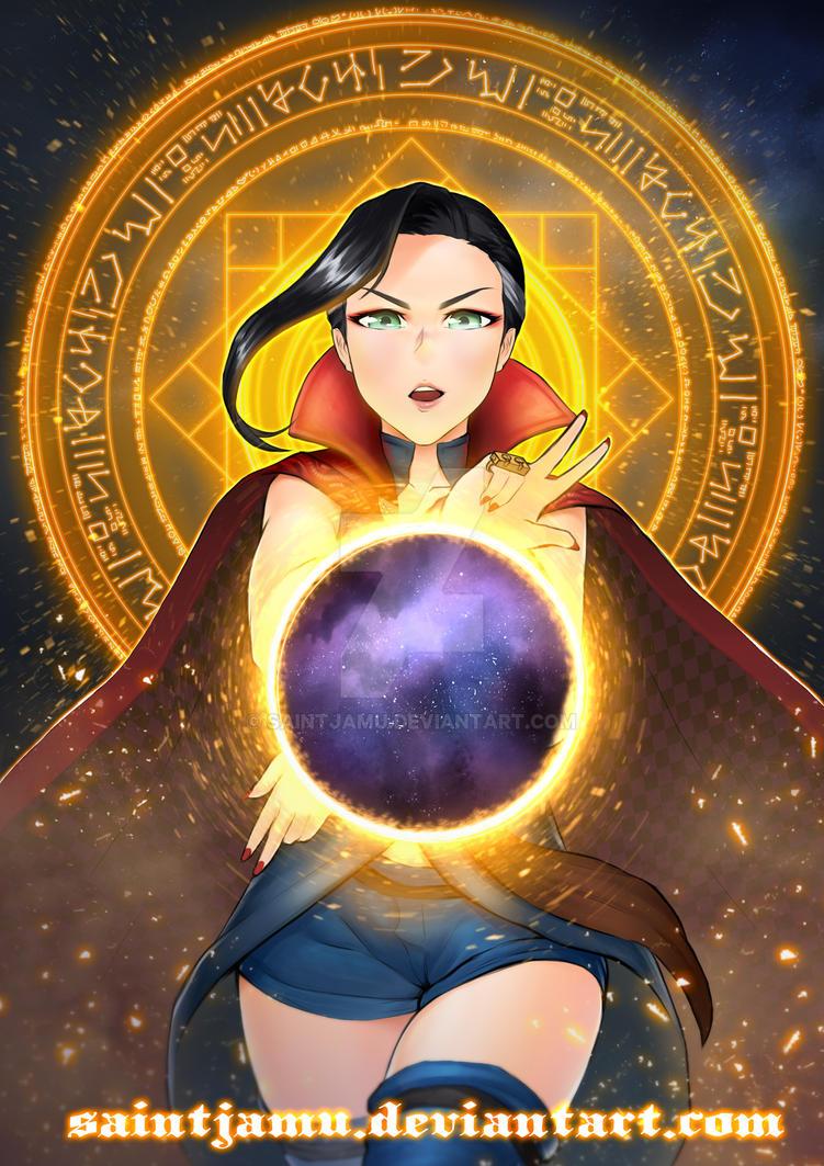 Doctor Strange by saintjamu