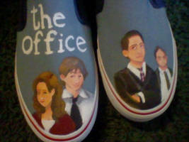 The Office shoes by Lemguin