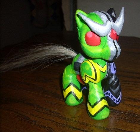 My Little Kamen Rider W Pony by Lemguin