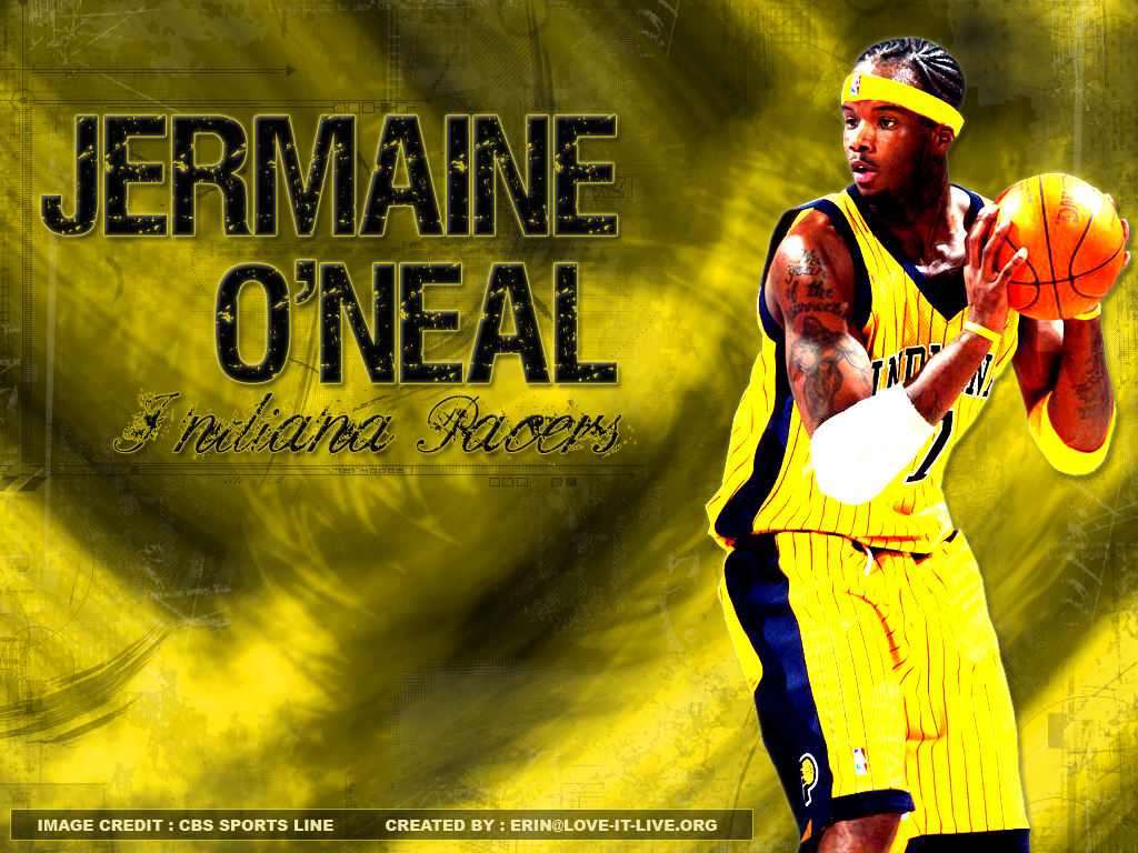 Jermaine O Neal Pacers by dyermaker on DeviantArt