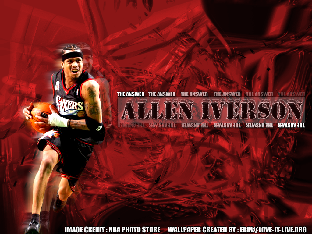 Allen Iverson : The Answer by dyermaker on DeviantArt
