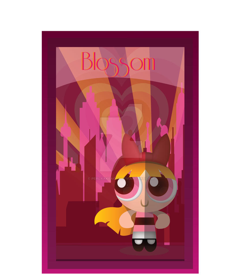 Blossom Art Deco by Perlaakeaggy