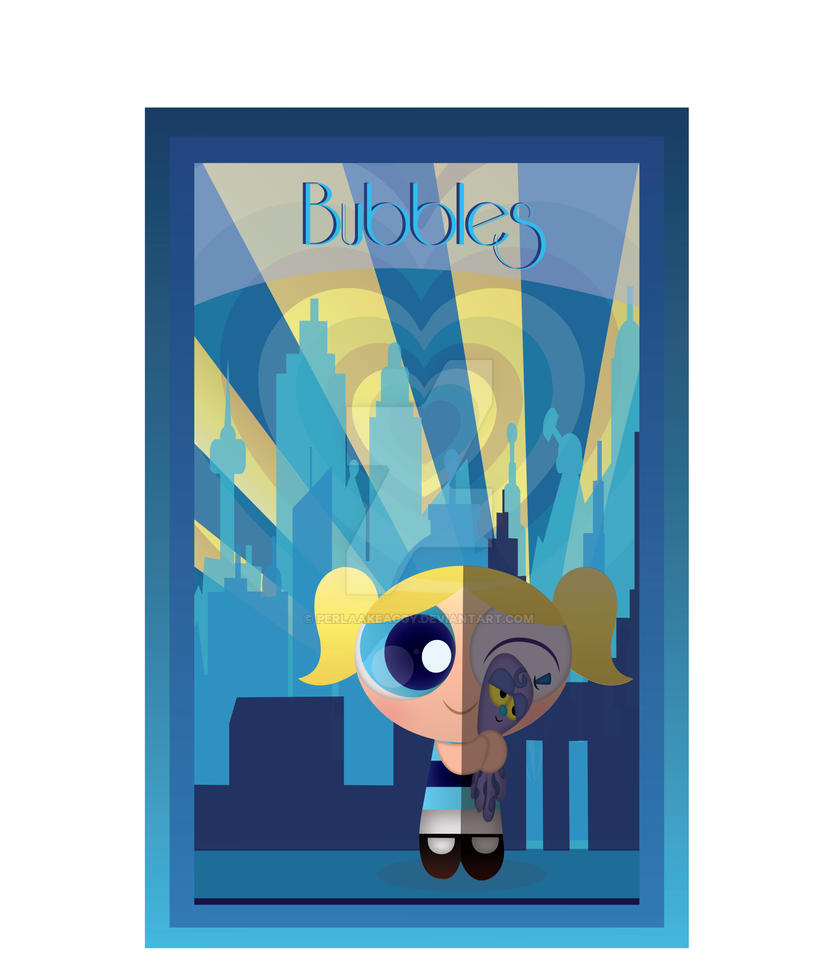 Bubbles Art Deco by Perlaakeaggy