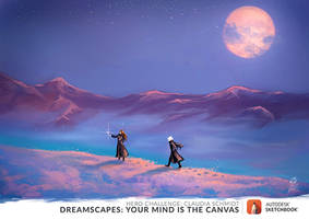 Our eternal journey - Dreamscape by pin100