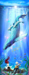 Blue whale blues by pin100