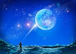 Commission - Full moon
