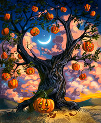 Halloween Tree by pin100