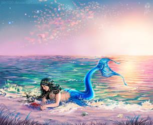 Tropical Mermaid by pin100