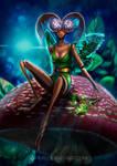 Mushroom Fairy by pin100