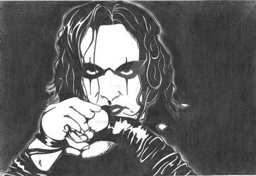 The Crow by DancingCorpse1000