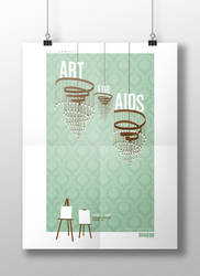 20th Annual Art for AIDS by pterisaur