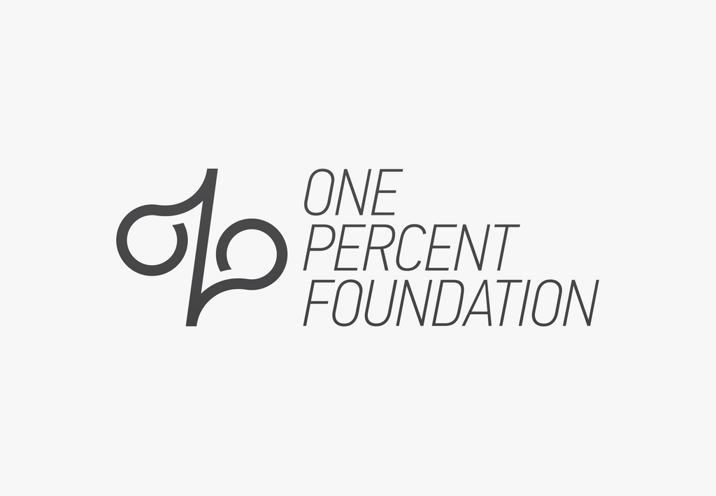 One Percent Foundation Logo Concept by pterisaur