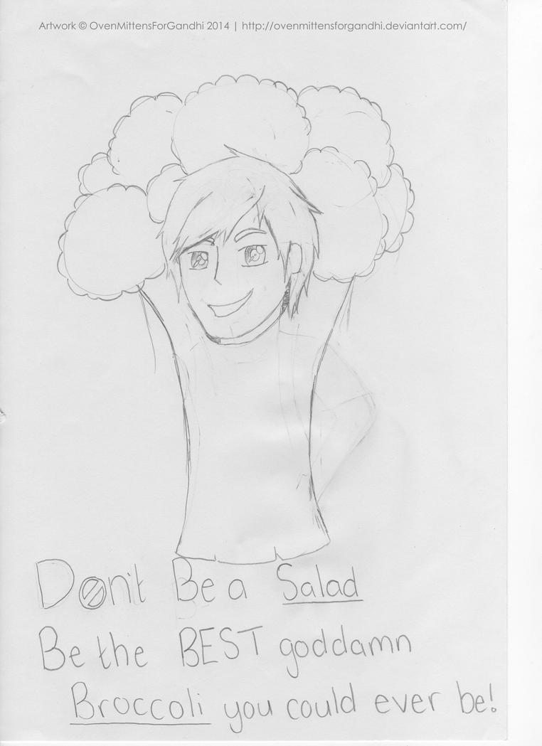 Best Goddamn Broccoli by OvenMittensForGandhi