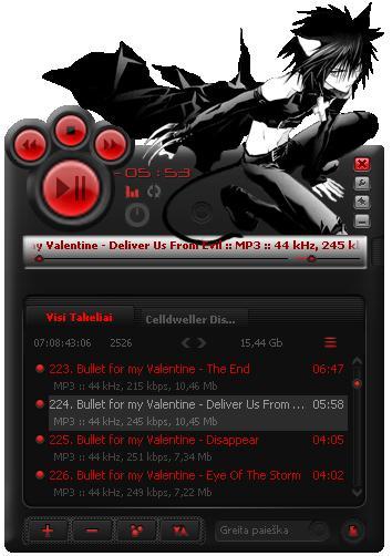Los mejores reproductores de música gratuitos Kuro_yamaneko_aimp2_skin_by_lusiukas-d30pl8r