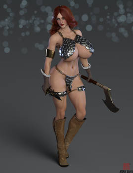 Red Sonja - Portrait
