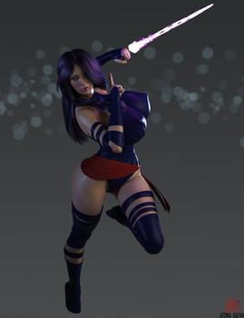 Psylocke - Getting the Drop on you