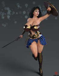 Wonder Woman V02 - Portrait