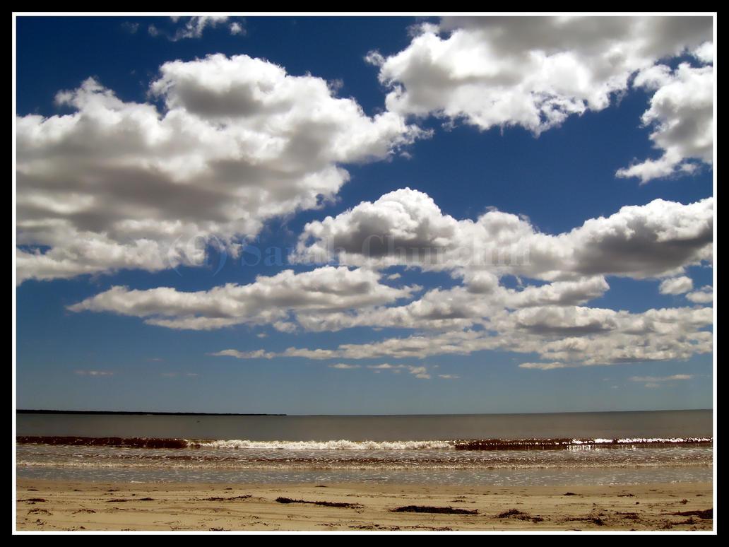 ocean sky . by YellowLemonade