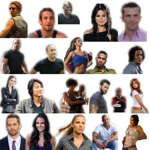 Fast and the Furious Characters by pinkrose25 on DeviantArt