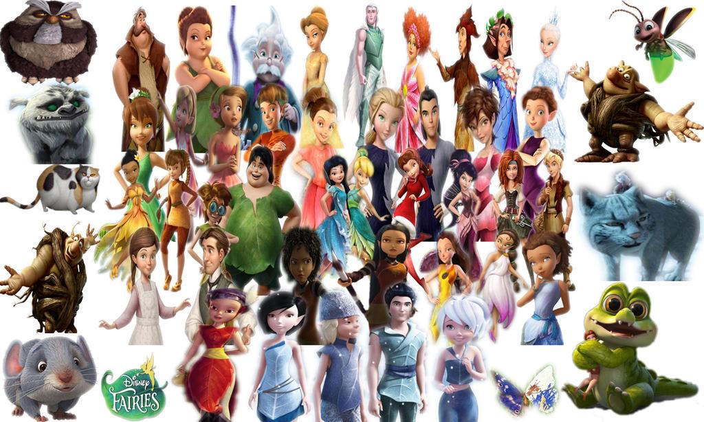 All Disney Fairies 517373756