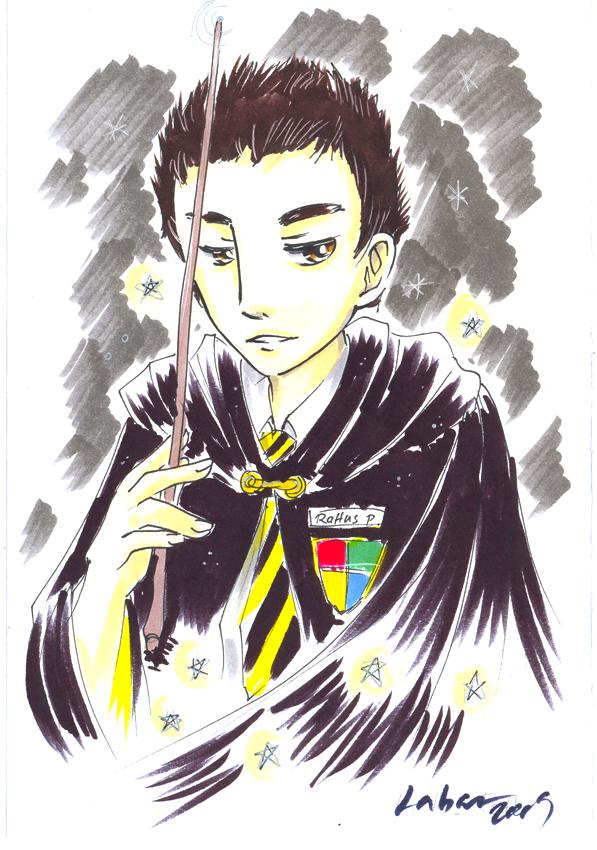 Rattus Potter by Teiyla