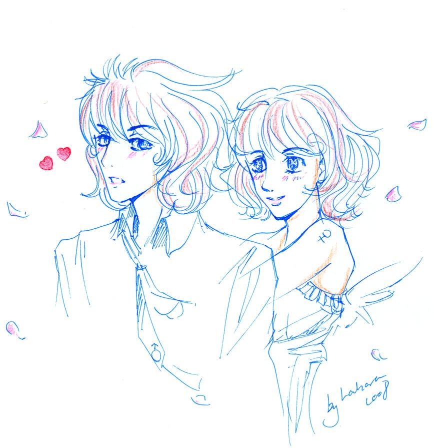 She and He by Teiyla
