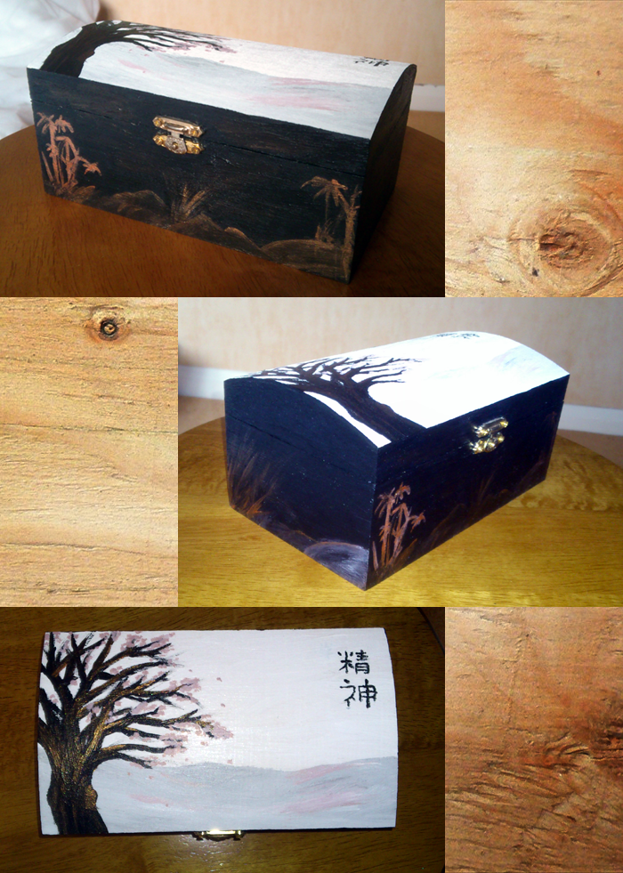Japanese Style Jewellery Box by Furue