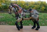 Steamjunk horse