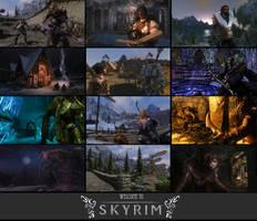 Greetings from Skyrim!