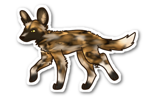 African Wild Dog by xMandakax