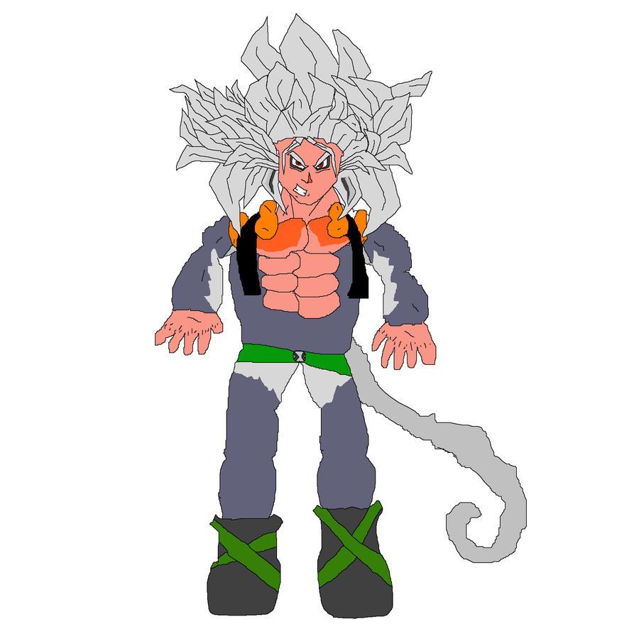 Super Saiyan 5 Gogeta by Dragonmarrs on DeviantArt
