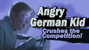 Angry German Kid Joins Super Smash Bros 4!
