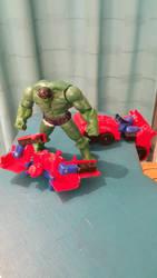 Vengadores vs Transformers by cachorrovoladorDEV