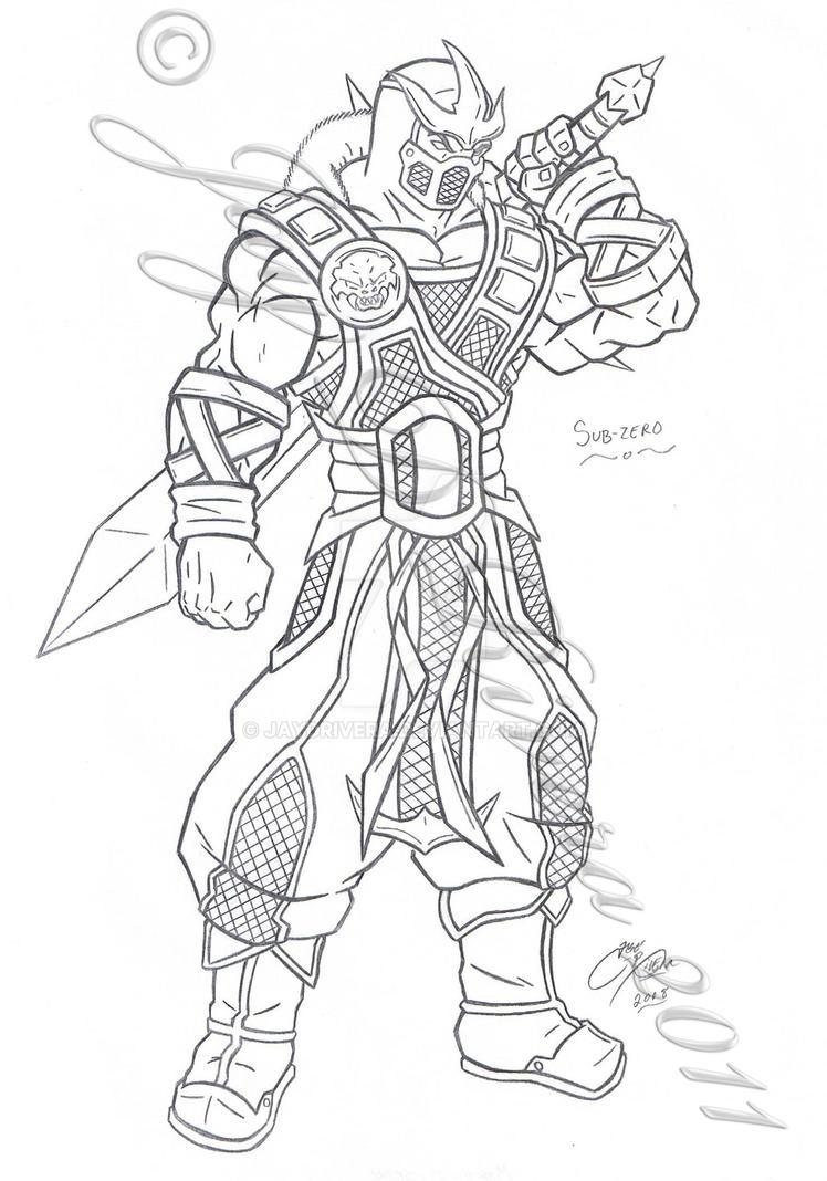 MK Sub-Zero by JayDRivera on DeviantArt