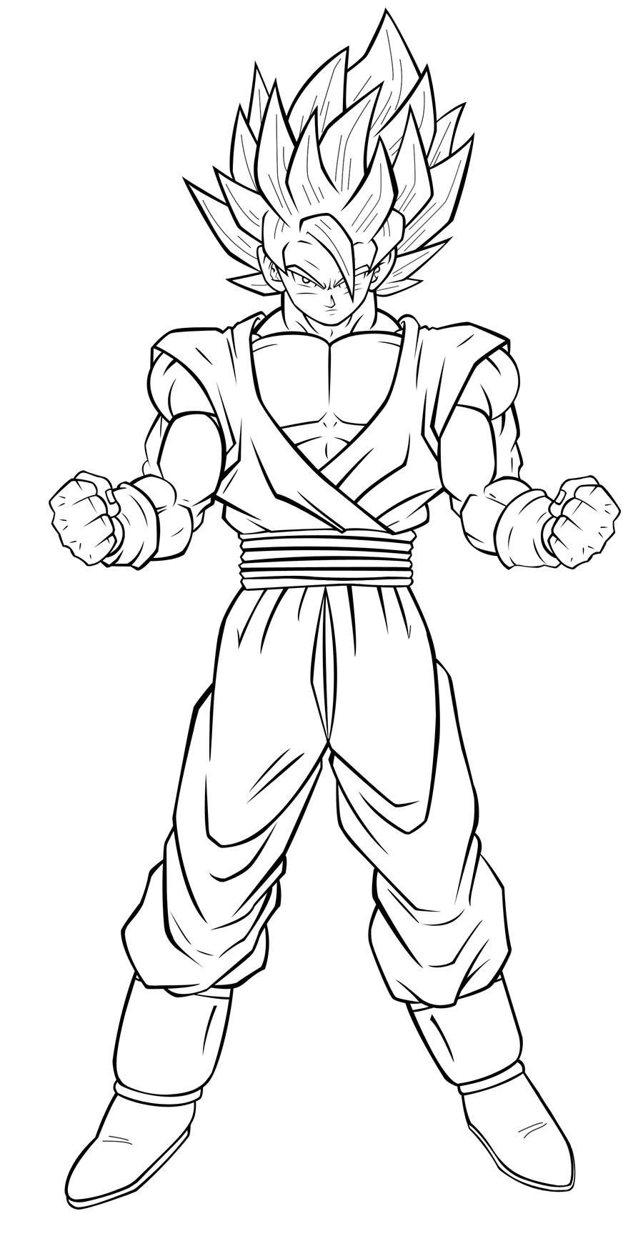 Goku Ssj6 Coloring PagesSsjPrintable Coloring Pages Free Download