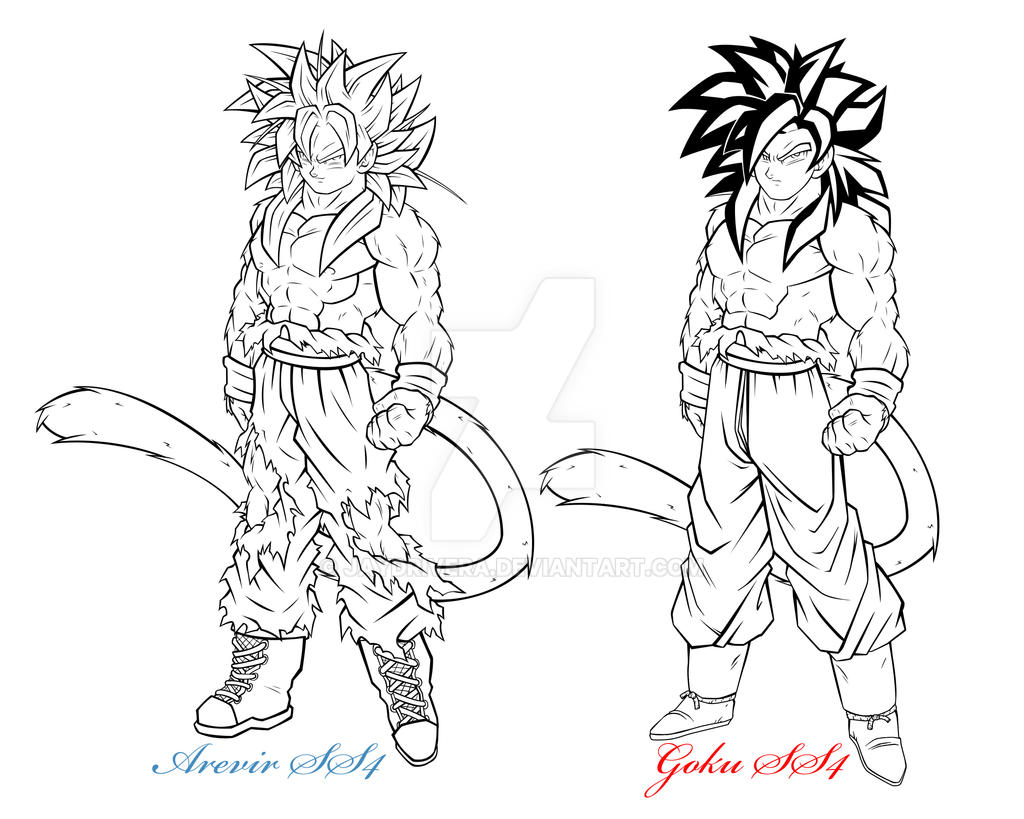arevir and goku ss4 by jaydrivera on deviantart