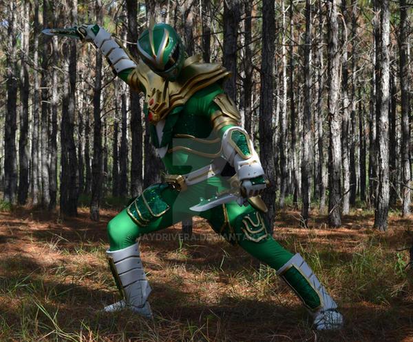 Holiday Matsuri 2015 Green Ranger by JayDRivera