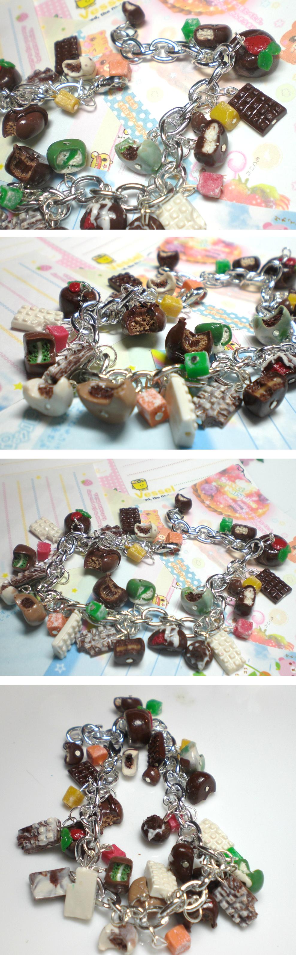Chocolate Shop Bracelet by GrandmaThunderpants