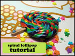 Spiral Lollipop Clay Tutorial