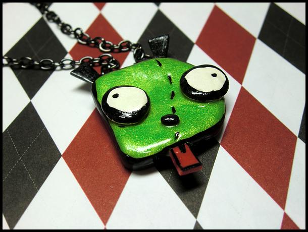 GIR Doggie Necklace by GrandmaThunderpants